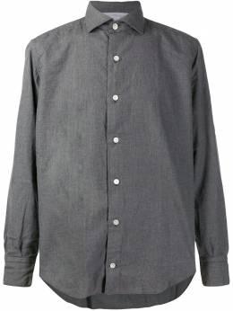 Eleventy - рубашка узкого кроя с длинными рукавами CA6669CAM08659956666