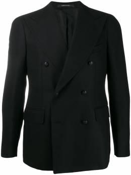 Tagliatore - фактурный пиджак в стиле колор-блок 06B90UIG038956966860