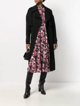 Diane von Furstenberg - Fann belted coat 09DVF956686390000000