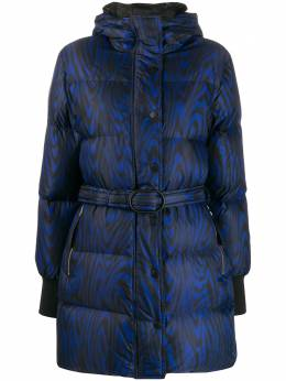 Kenzo - abstract print padded coat 0OU65656595556985000