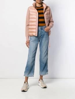 Moncler - куртка Venturine с дутыми вставками 5366A969895599663000