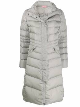 Bogner - long padded coat 63569699GREYMELANG95