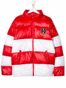Tommy Hilfiger Junior - TEEN two-tone panelled down jacket KS666969563635800000