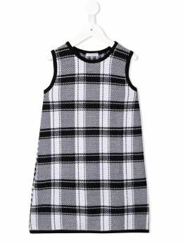 Dolce & Gabbana Kids - houndstooth knitted dress D93JAVTK956833550000