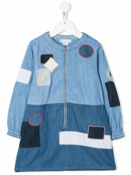 Stella McCartney Kids - patchwork denim dress 835SNK38955695030000