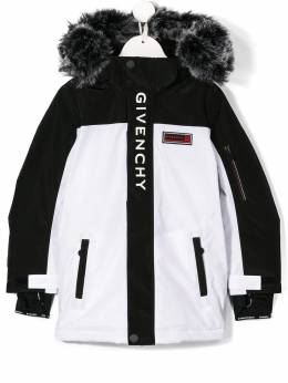 Givenchy Kids - two-tone down jacket 656N5695698559000000