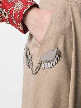 Isabel Marant брошь в форме птиц BC004519H012B