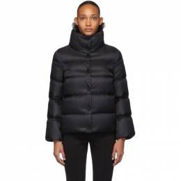 Moncler Black Down Aude Jacket 192111F06103101GB