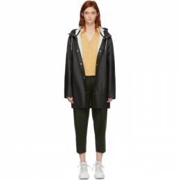 Stutterheim Black Stockholm Raincoat 1001 / 1001
