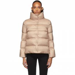Moncler Pink Down Aude Jacket 192111F06103204GB