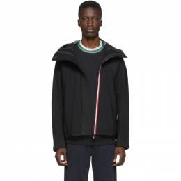 Moncler Grenoble Black Maglia Zip-Up Jacket 192826M20200402GB