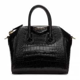 Givenchy Black Croc Mini Antigona Bag 192278F04603201GB