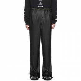 Balenciaga Black Oversized Trousers 192342M19101501GB
