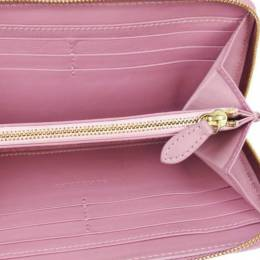 Burberry Pink Patent Leather Long Wallet 237574