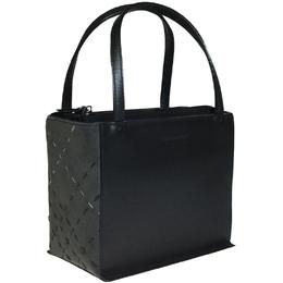 Burberry Black/Gray Leather Bag 237552