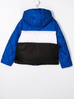 Young Versace - padded colour blocked jacket 66663YA6660995580555