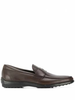 Tod's - stamped monogram loafers 03B66656D96956933530
