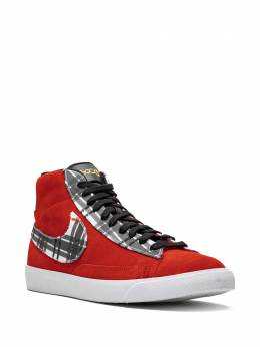 Nike - Blazer Mid PRM high-top sneakers 38066695588558000000