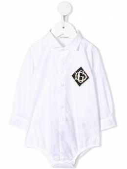 Dolce & Gabbana Kids - боди-рубашка O63G3TZF956860090000