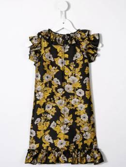 Dolce & Gabbana Kids - sleeveless floral ruffle dress DT5FJM6B956966930000