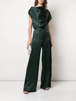 Michelle Mason - asymmetric drape jumpsuit 89956663630000000000