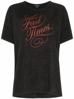 R13 футболка с принтом Fast Times R13W754901