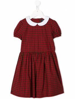 Ralph Lauren Kids - short sleeve tartan dress 35989395589386000000