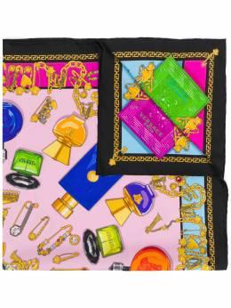 Versace - perfume printed scarf 9669IT63656956686980