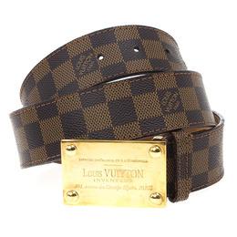 Louis Vuitton Damier Ebene Inventeur Belt 19295