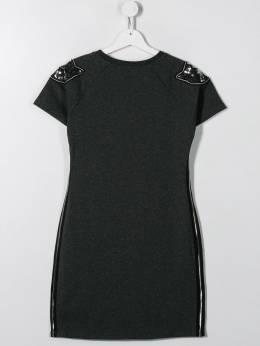 Karl Lagerfeld Kids - короткое платье с пайетками 90695508309000000000