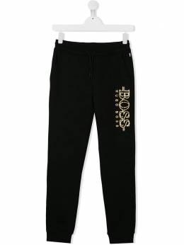 Boss Kids - спортивные брюки с логотипом 60369B95503688000000