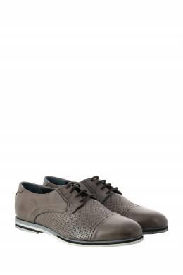 Бежевые кожаные туфли с перфорацией Roberto Rossi 2995160766
