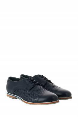 Темно-синие кожаные туфли с плетением Roberto Rossi 2995160764