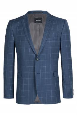 Синий клетчатый костюм Strellson 585160844