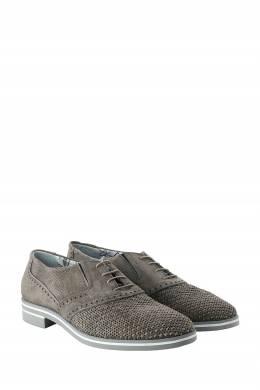 Бежевые замшевые туфли с перфорацией Roberto Rossi 2995160770