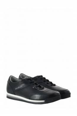 Черные кроссовки с трехслойной подошвой Strellson 585160788
