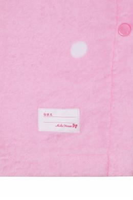 Махровая розовая юбка Miki House 3018160152