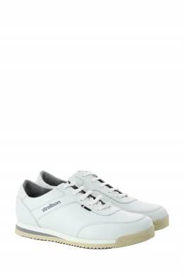 Белые кожаные кеды Strellson 585160853