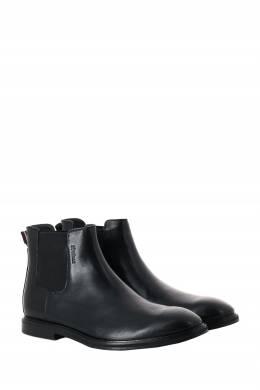 Черные кожаные челси Strellson 585160814