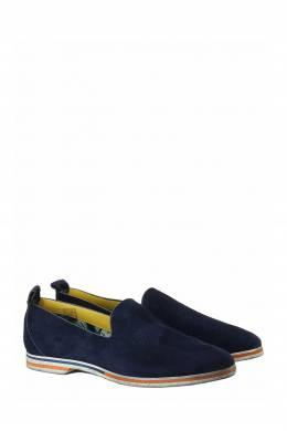Темно-синие туфли из замши Roberto Rossi 2995160831