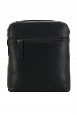 Темно-коричневый мессенджер из кожи Strellson 585160795