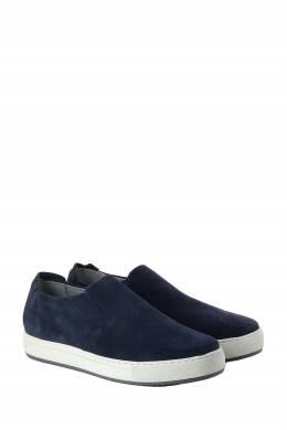 Темно-синие слипоны с белой подошвой Strellson 585160860