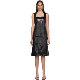 Bottega Veneta Black Satin Dress 192798F05400103GB