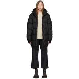 The North Face Black Down Vistaview Coat 192802F06102205GB