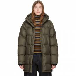 The North Face Green Down Vistaview Coat 192802F06102501GB