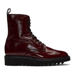 Giuseppe Zanotti Design Red Rullino Boots 192266M23705107GB