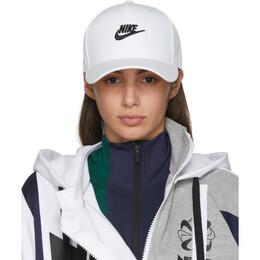 Nike White Futura Snapback Cap 201011F01613801GB
