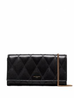 Givenchy - logo embossed quilted clutch 68QB68Z9593936600000