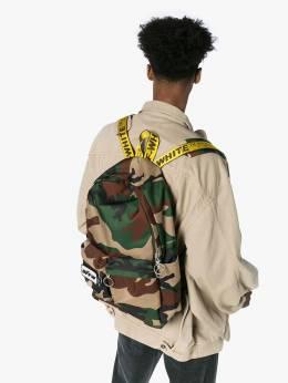 Off-White - рюкзак с камуфляжным принтом B663E986356699966909
