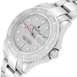 Rolex Platinum Stainless Steel Yachtmaster 16622 Men's Wristwatch 40MM 237860